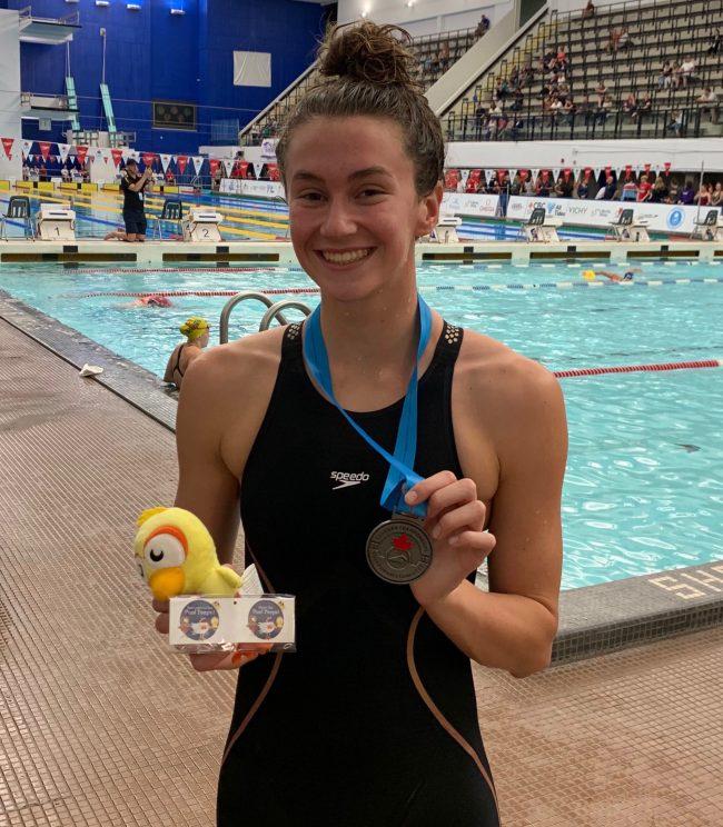 Genevieve Sasseville swimmer