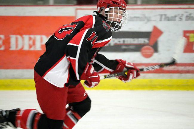 Brady Stonehouse hockey