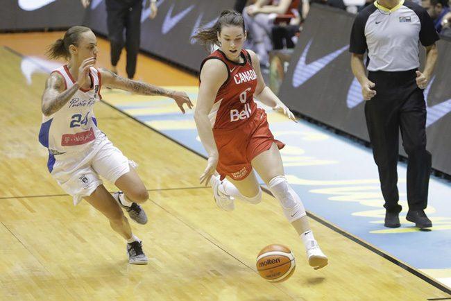 Bridget Carleton basketball