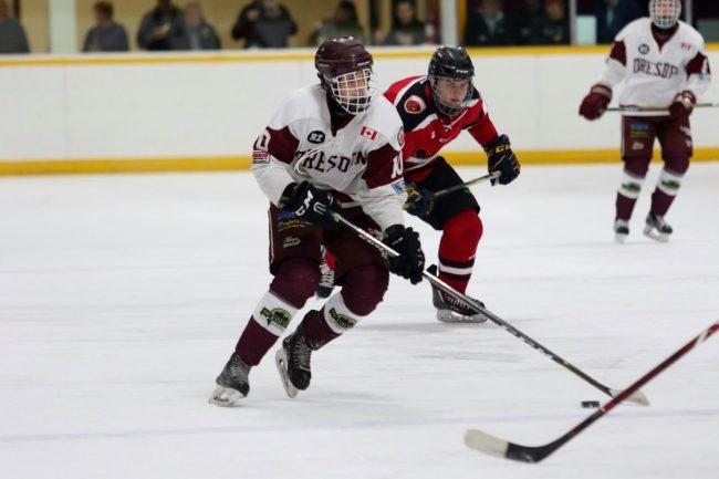 Ethan Sauve hockey