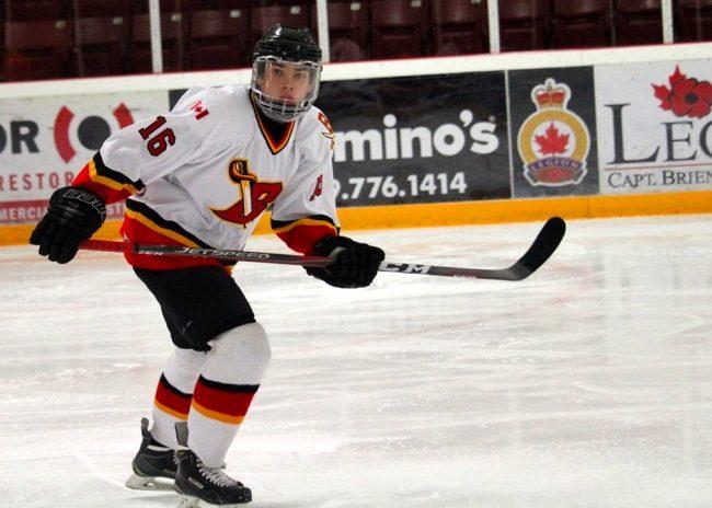 Spencer Chatel hockey