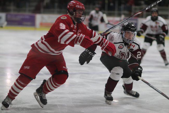 Kade McKibbin hockey