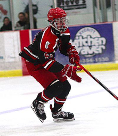 Ayden Blain hockey