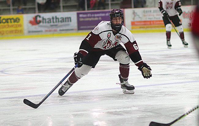 Blake Boudreau hockey