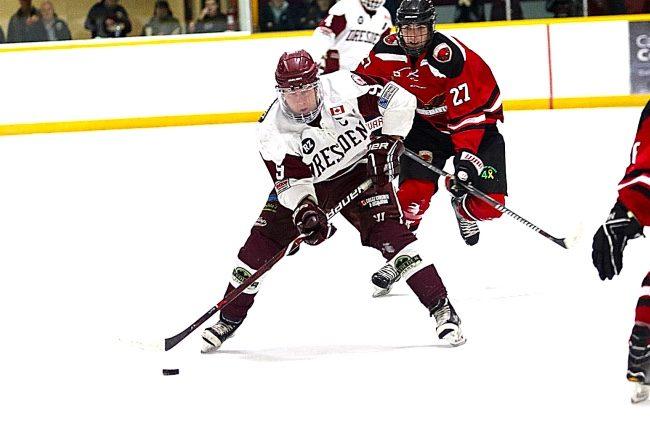Brendan Ritchie hockey