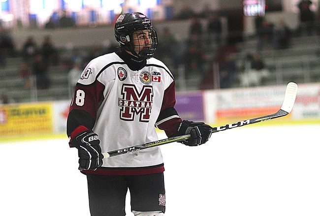 Evan Wells hockey