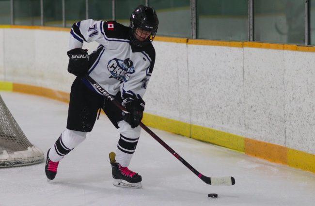 Reese Parks hockey