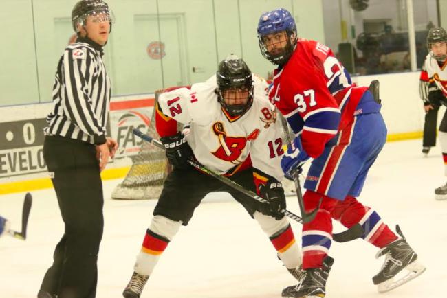 Connor Wright hockey