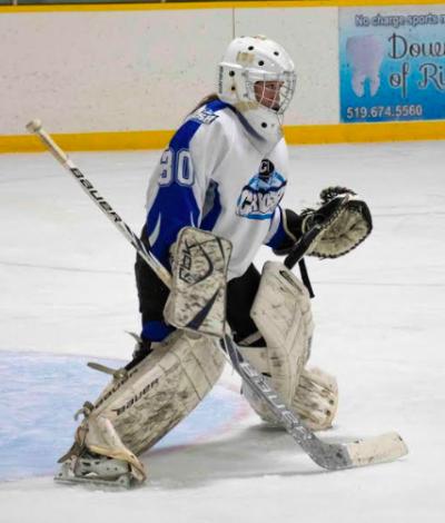 Amber Parent hockey