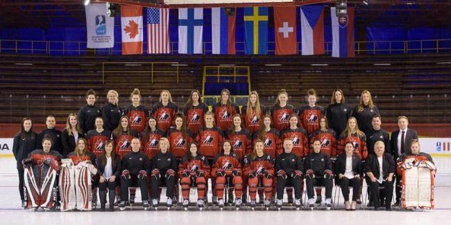 Hockey Canada U18 women's team