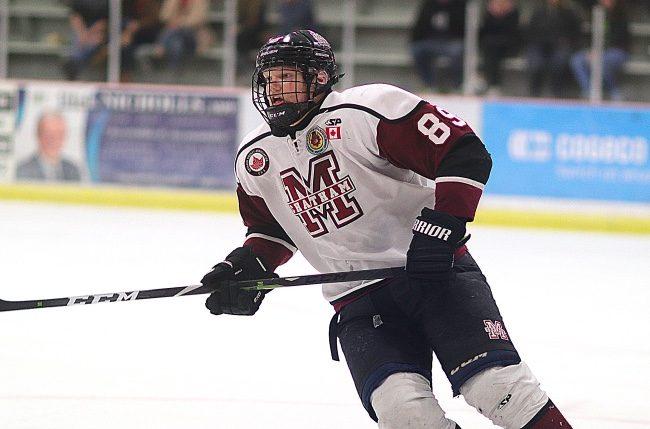 Tate Bowden hockey