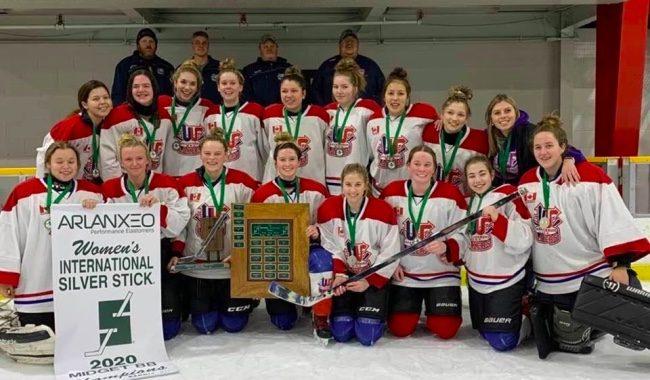 Wallaceburg girls hockey