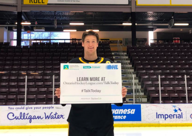Sarnia Sting mental health