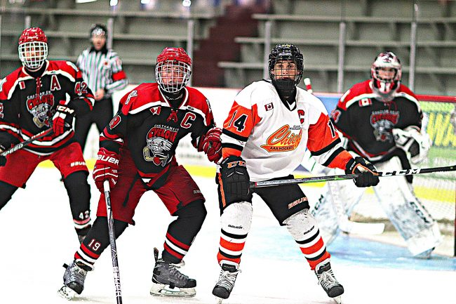 Owen Van Steensel hockey