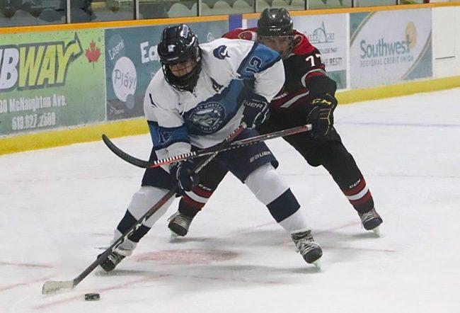 Drew Denomy hockey