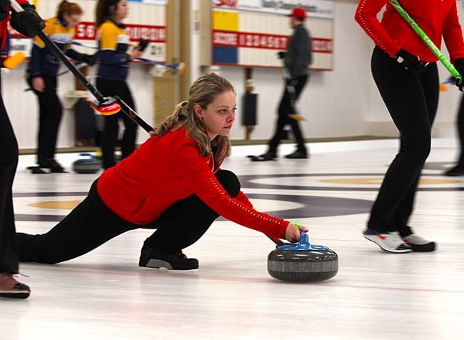 Erin White curling