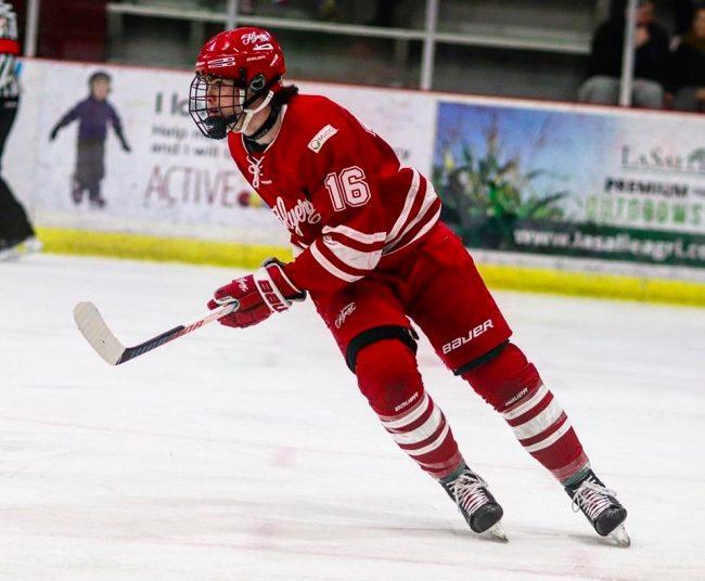 Josh King hockey