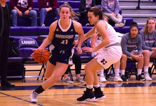 Megan McCarter basketball