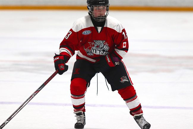 Sarah Marchand hockey