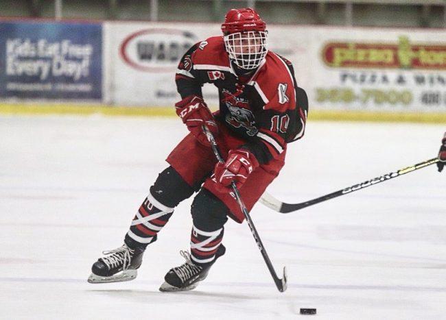 Ryan Gagner hockey