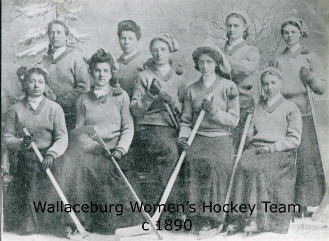 Wallaceburg Women's Hockey