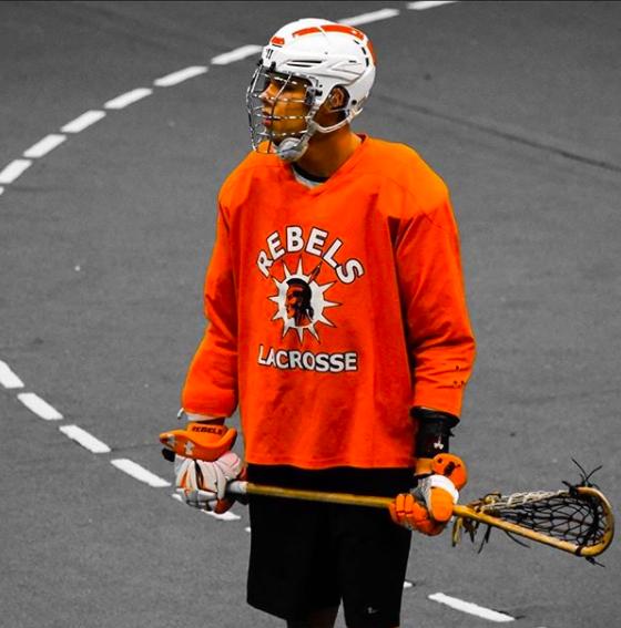 Marshall Powless lacrosse